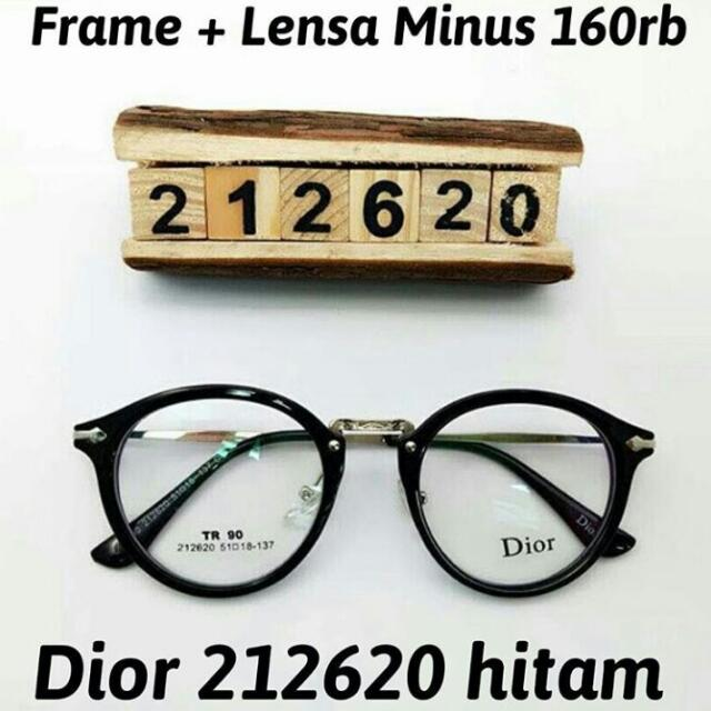 Frame Free Lensa Minus Std Optic