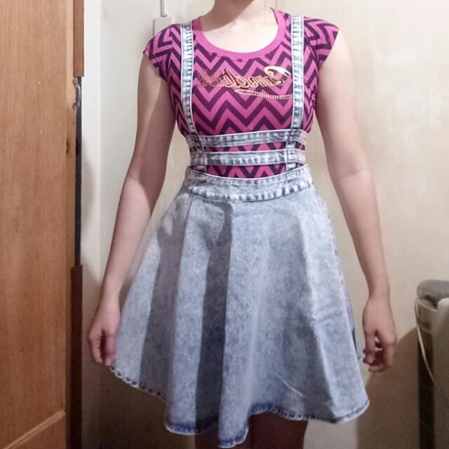 Genevieve Gozum Jumper Skirt
