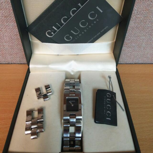 GUCCI 2305L Timepiece Stainless Steel