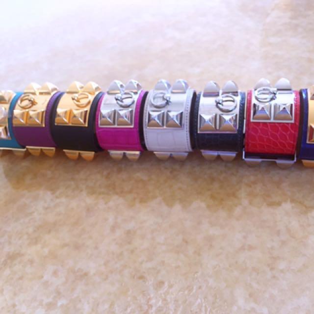 我的Herme's Cdc全系列手環