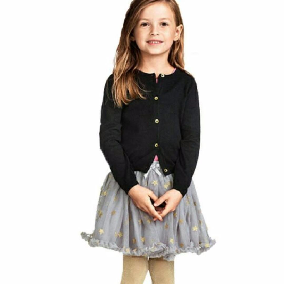 6f05c7cdc H&M Inspired Grey Mesh Tulle Tutu Skirt with Stars, Babies & Kids ...