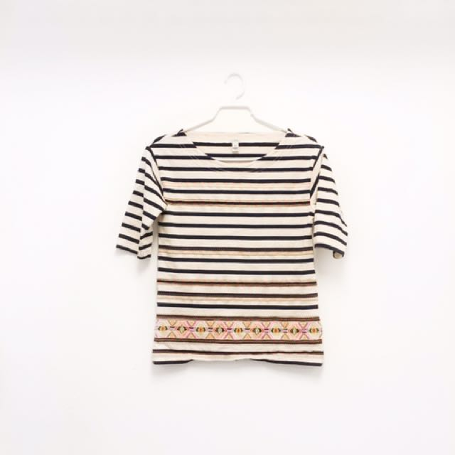 J Crew Striped Top (xxs)