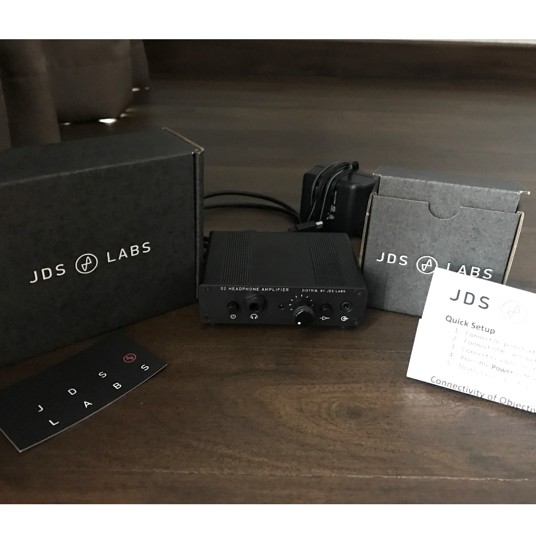 173fd6f19d7 JDS Labs O2+ODAC Combo Rev B Headphone Amplifier+DAC (Black), Electronics,  Audio on Carousell