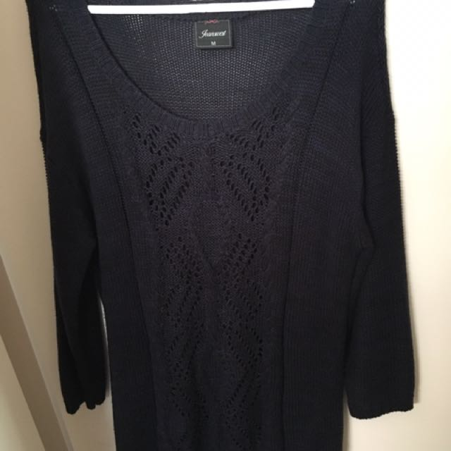 Jeanswest Navy Knit Size M