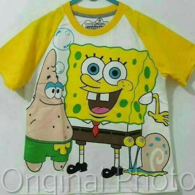 Kaos Anak Spongebobs 001