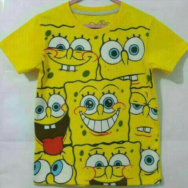 Kaos Anak Spongebobs 002