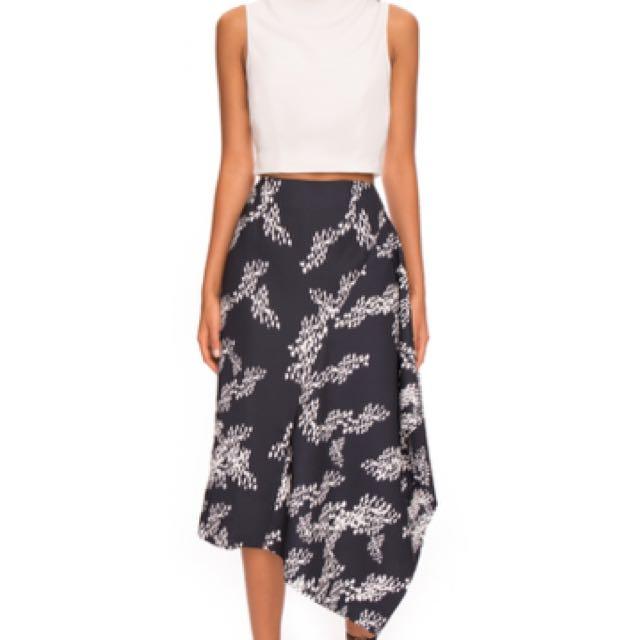 Keepsake Tessellate Asymmetric Skirt - Size 6