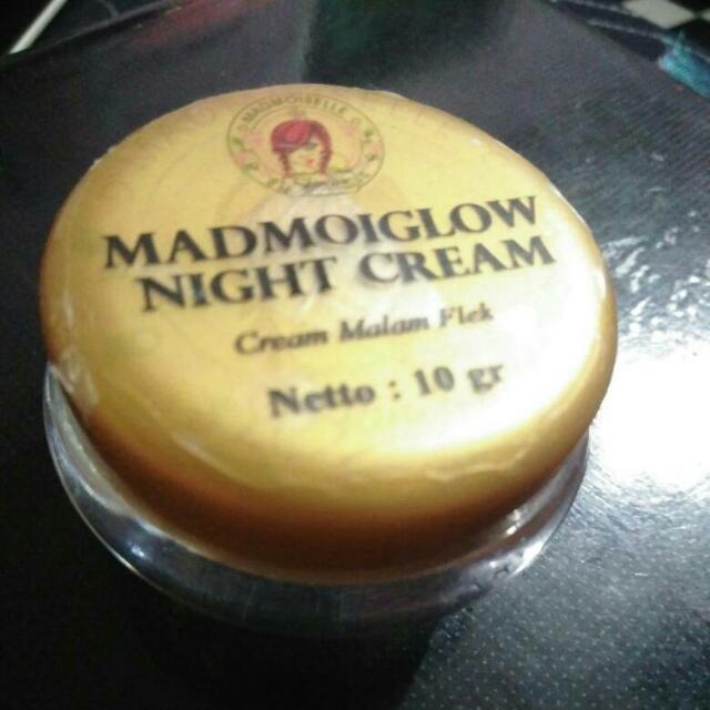 Madmoiglow Night Cream ( Cream Malam Flek)