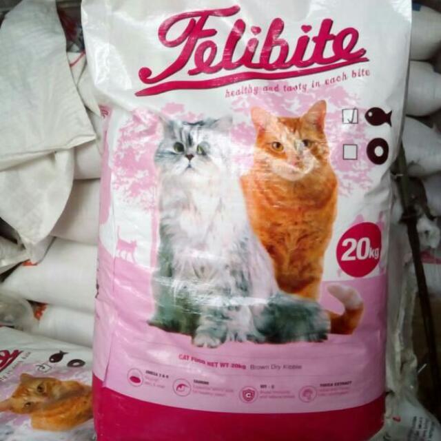 Makanan Kucing Felibite Cat Food Repack 500 Gram Pet Supplies
