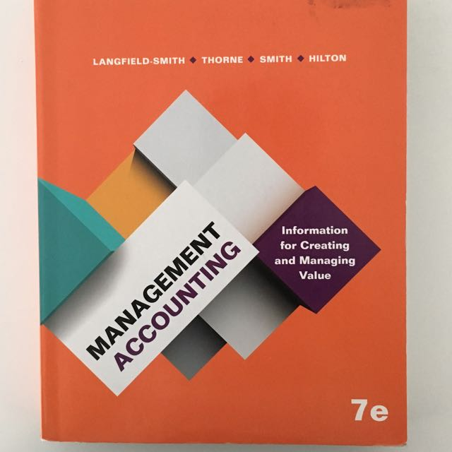 Management Accounting 7th Edition