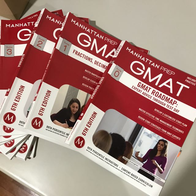 Manhattan Prep GMAT - MBA / Business School Graduate Studies