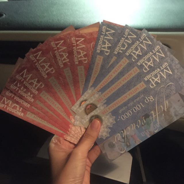 MAP Vouchers 1jt