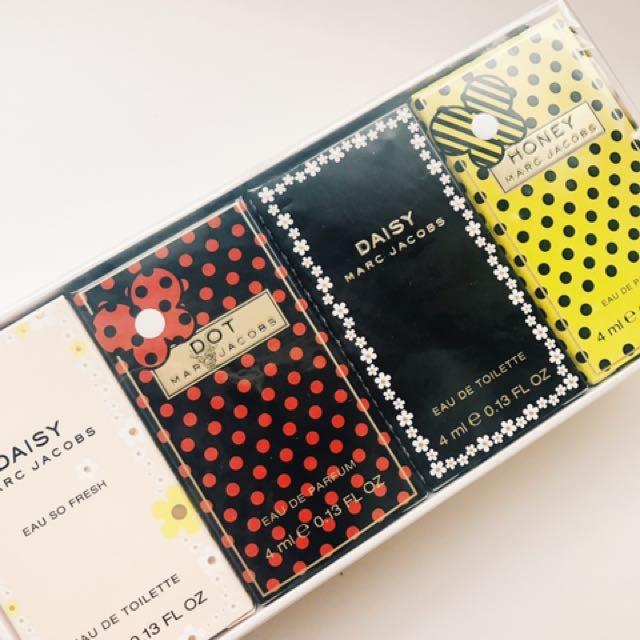全新marc jacobs fragrances 4ml限量版香水