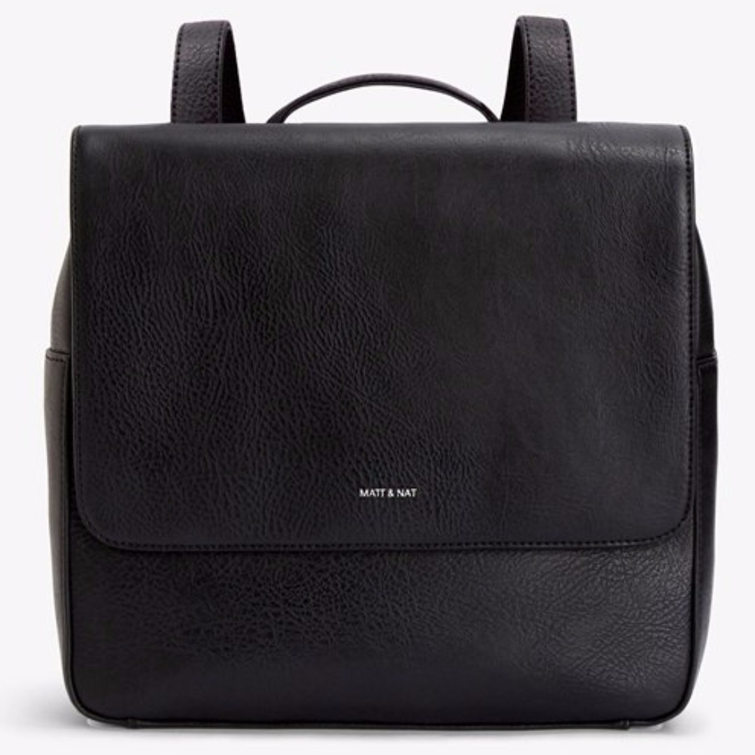 Matt & Nat Pacific Black Dwell Backpack