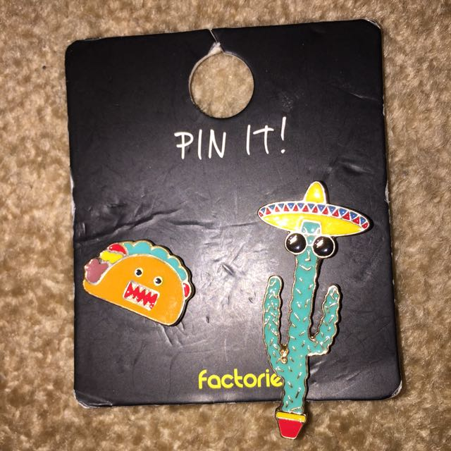 MEXICAN THEMED PINS!!