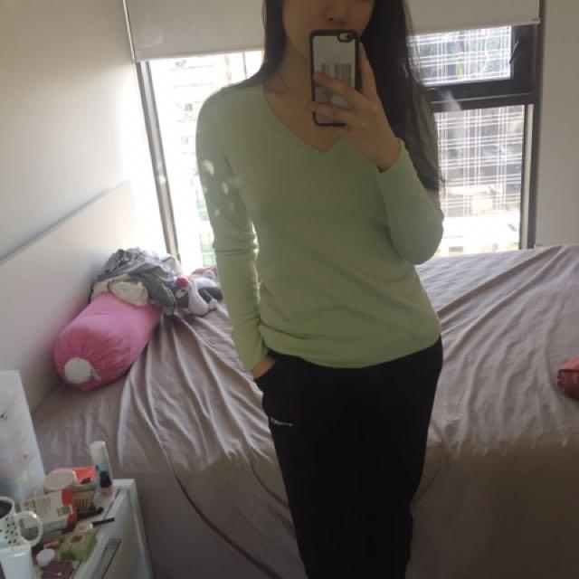 M&S Green Mint Sweater