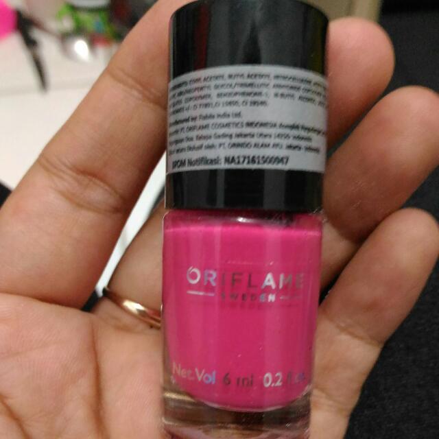 Nail Polish Intense Pink