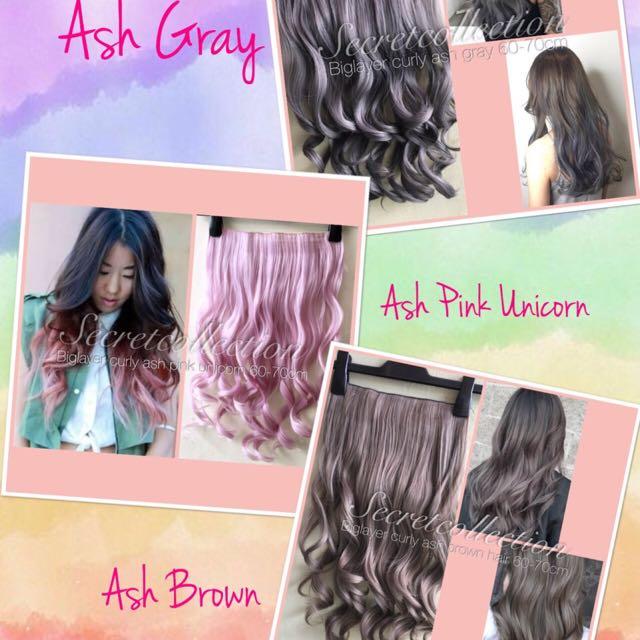 new hair clip 3 warna baru