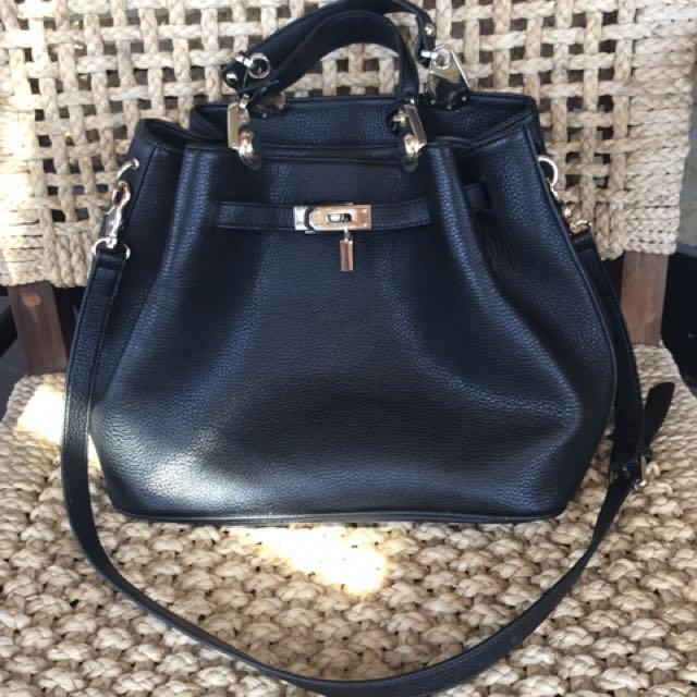 New Leather Italian Bag