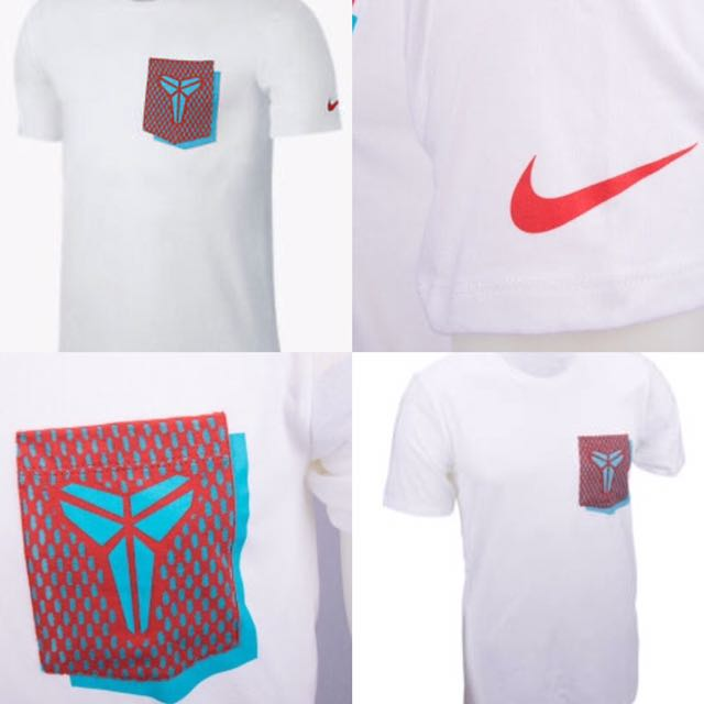 Nike Kobe XI 3-D Mambacurial T-Shirt. White. S/M/L. 100% Auth & New.