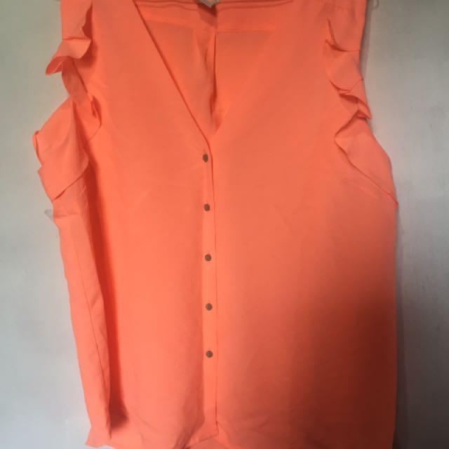 Orange cloth
