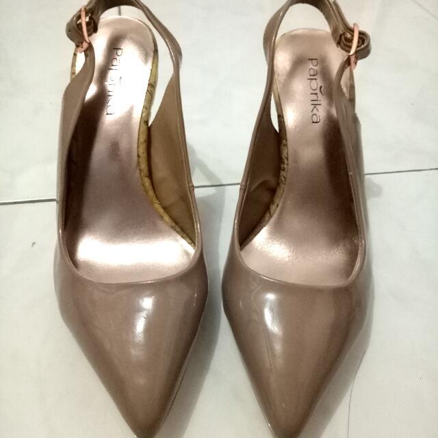 a8a9a9ba4c7 paprika nude heels