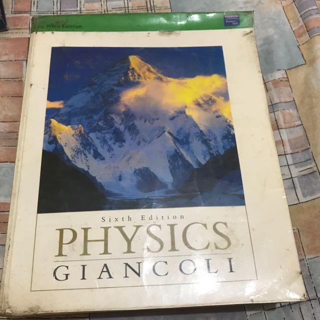 Physics (by Giancoli)