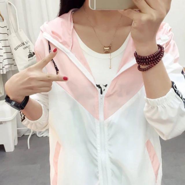 Pink&White Jacket