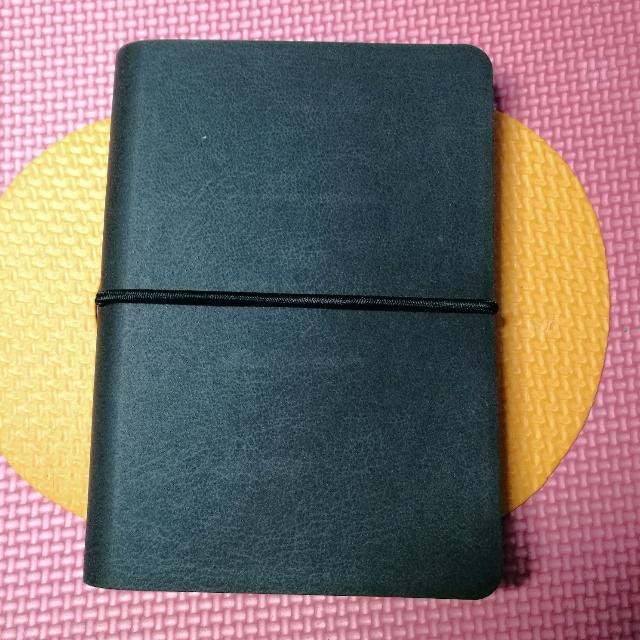 Pocket-sized Blank Leatherette Monologue Notebook
