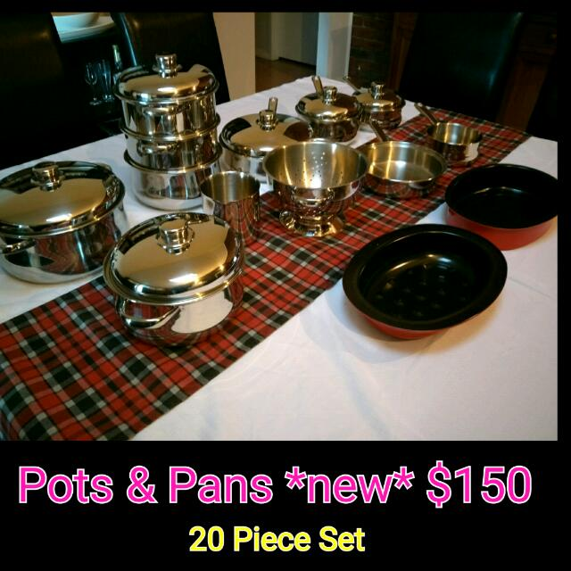 Pots And Pans *reduced*
