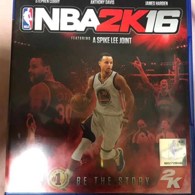 ps4 NBA 2K16
