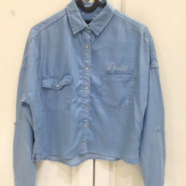 Pull&Bear crop shirt