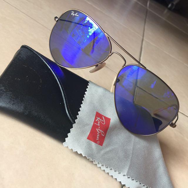 Ray•Ban RB3025 Aviator Large Metal Sunglasses