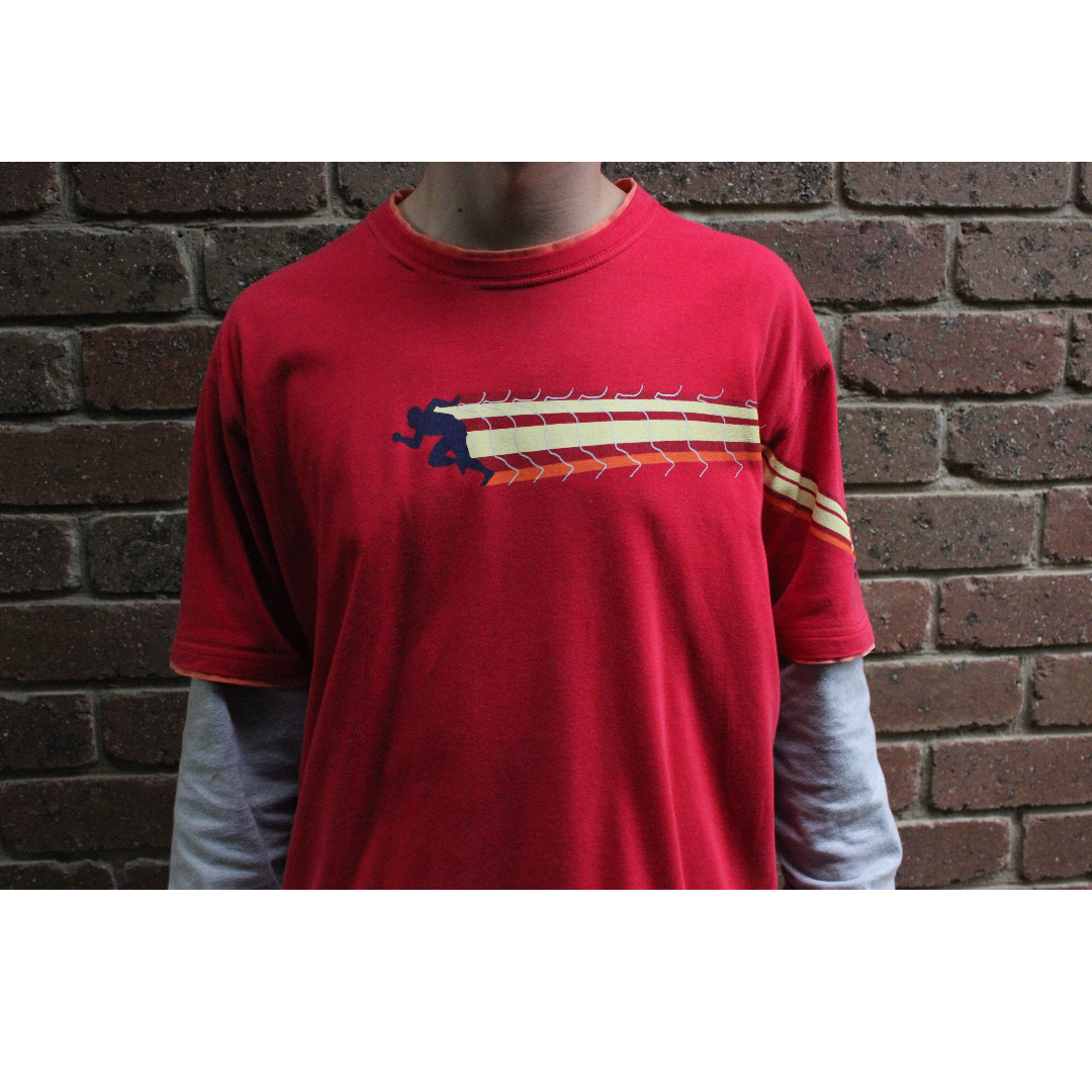 Red Spalding T-Shirt - Size Large