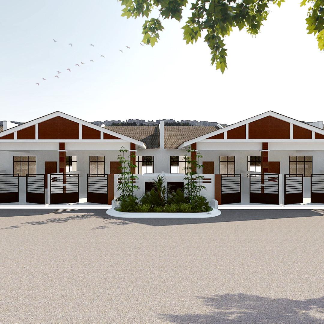 Rumah Teres Baru Jasin Melaka RM163k Sahaja Property Untuk