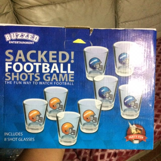 Sacked Football Shots Game