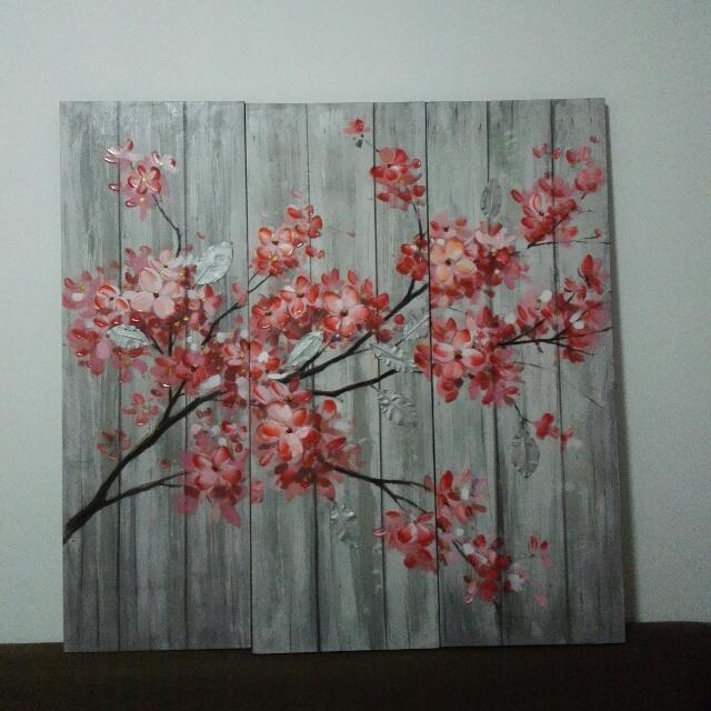 Sakura Canvass Painting