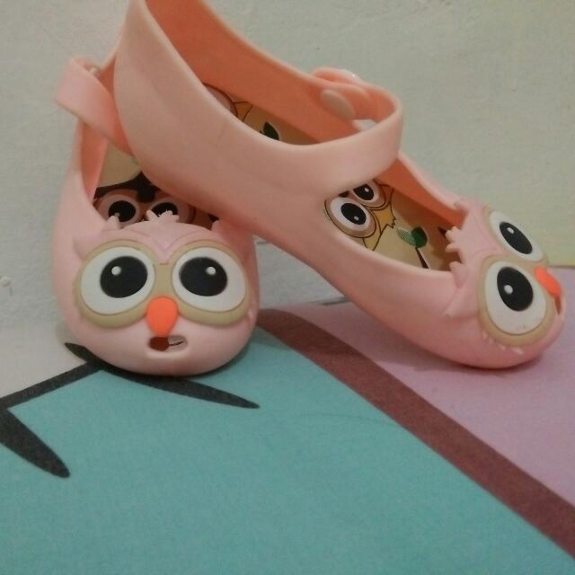 Sepatu Jelly Anak Dengan Tapak Tenal Ada Hak 2 Cm Size 26