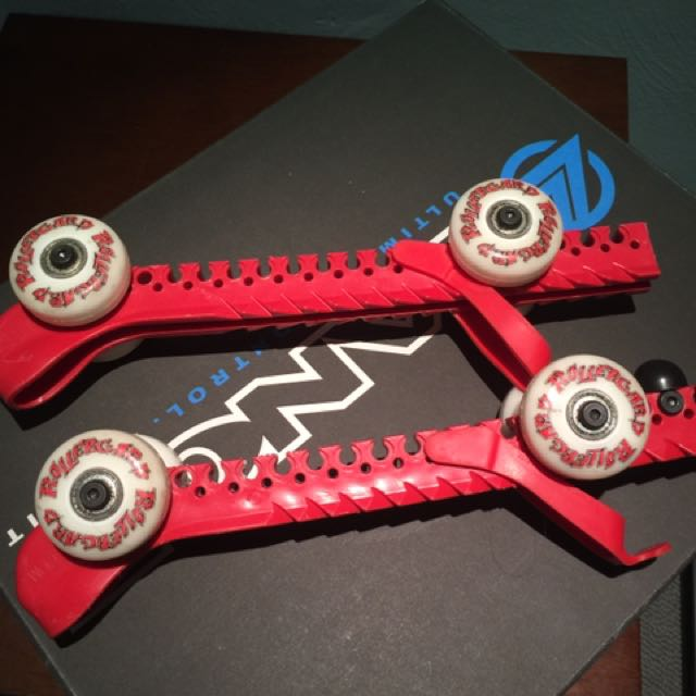 Skate Guards With Wheels