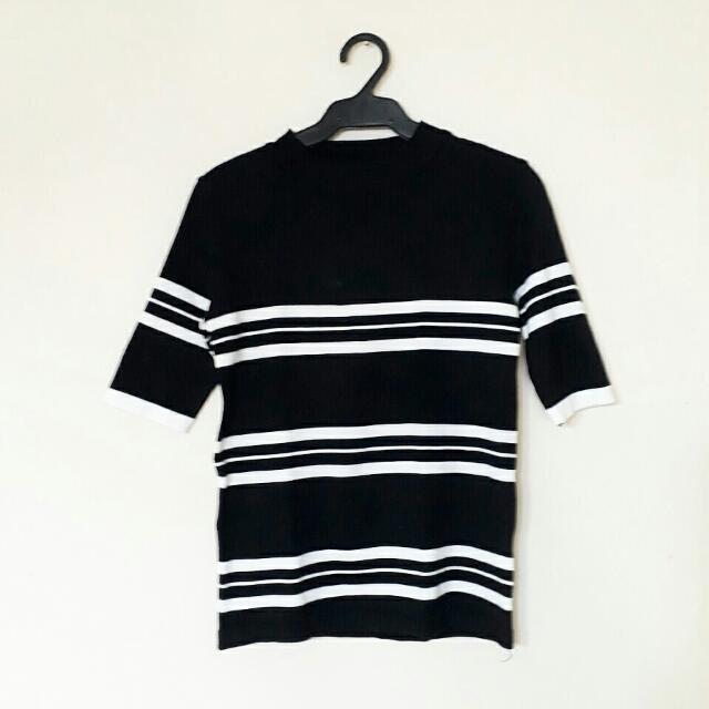 Striped Round Neck Shirt