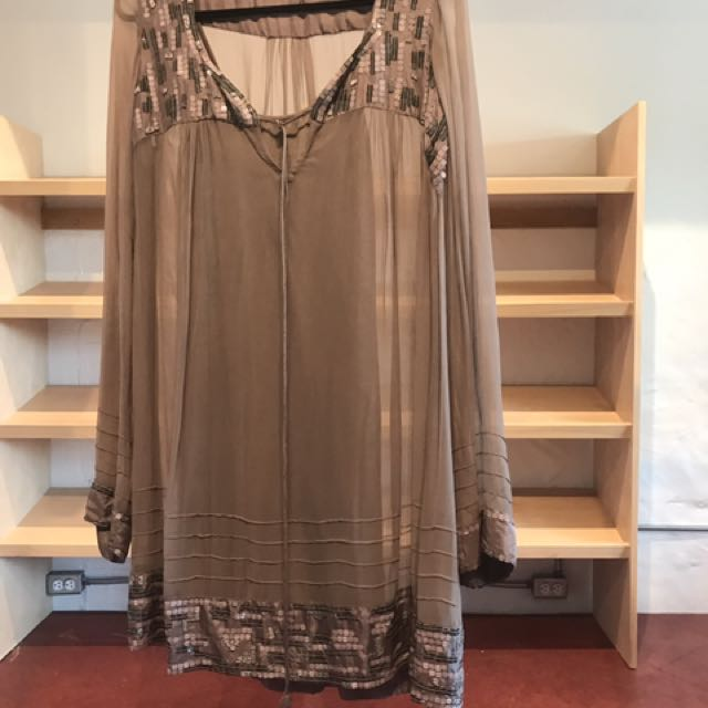 Summer Dress With Slip Size M