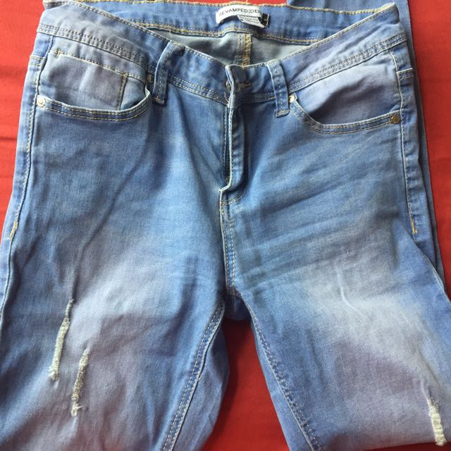 Urban Planet Jeans Slightly Distressed Tight Fit