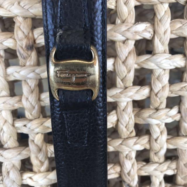 Vintage Ferragamo Leather Belt Size