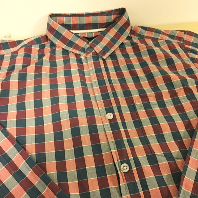 We Rob Banks' Men's Shirt Checked Pattern