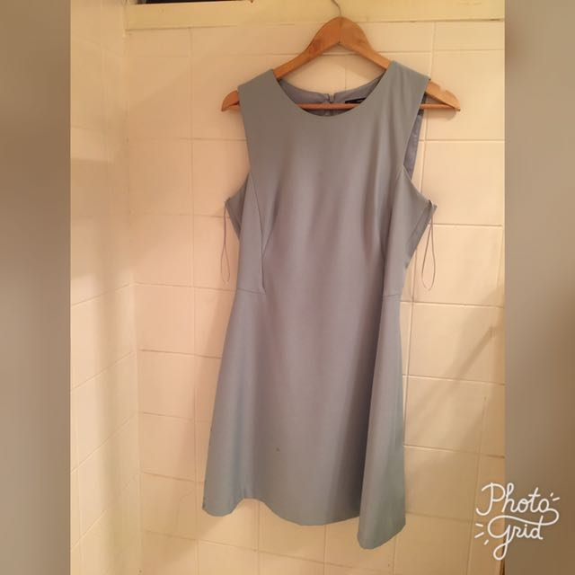 Zara Basics Dress - Baby Blue
