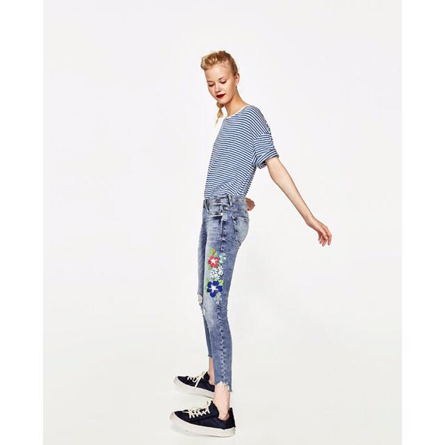 5f2cabf6 photo photo ... Image 8 of RUSTIC BAGGY TROUSERS from Zara. light wash jeans  from Zara. Low Waist ... Super skinny ...