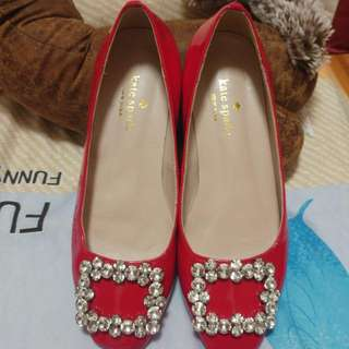 Kate Spade Red Shoes