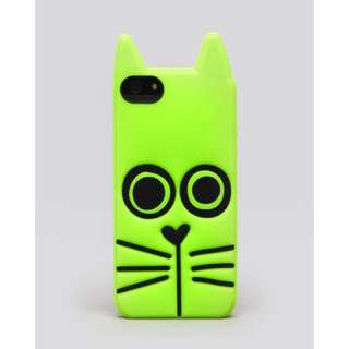 Marc Jacobs iPhone 5 Case Rue Cat In Green