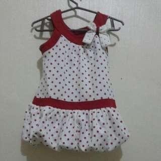 Polkadots Balloon dress