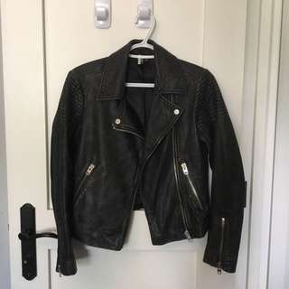 Topshop Boutique Leather Jacket